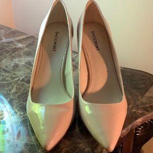 3 inch beige Shoemint high heels